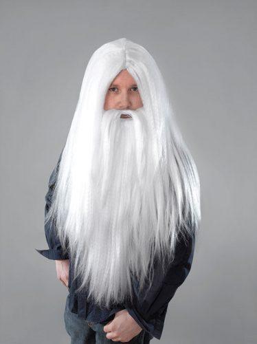 Wizard Wig And Beard Set-528