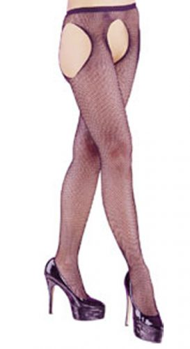 Crutchless Fishnet Tights H189-0