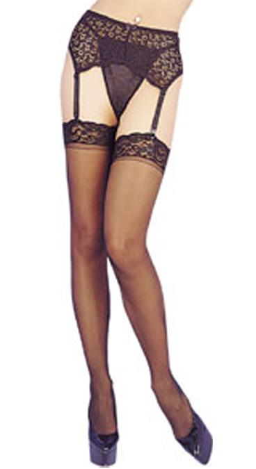 b262e5ca4a9b1 Seamed Stockings H2098 | Hidden Corner Fancy Dress