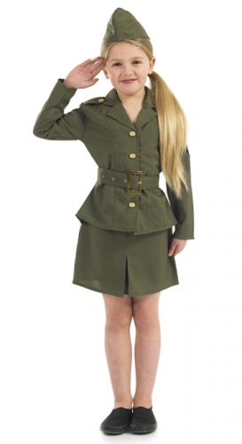 WW2 Army Girl-0