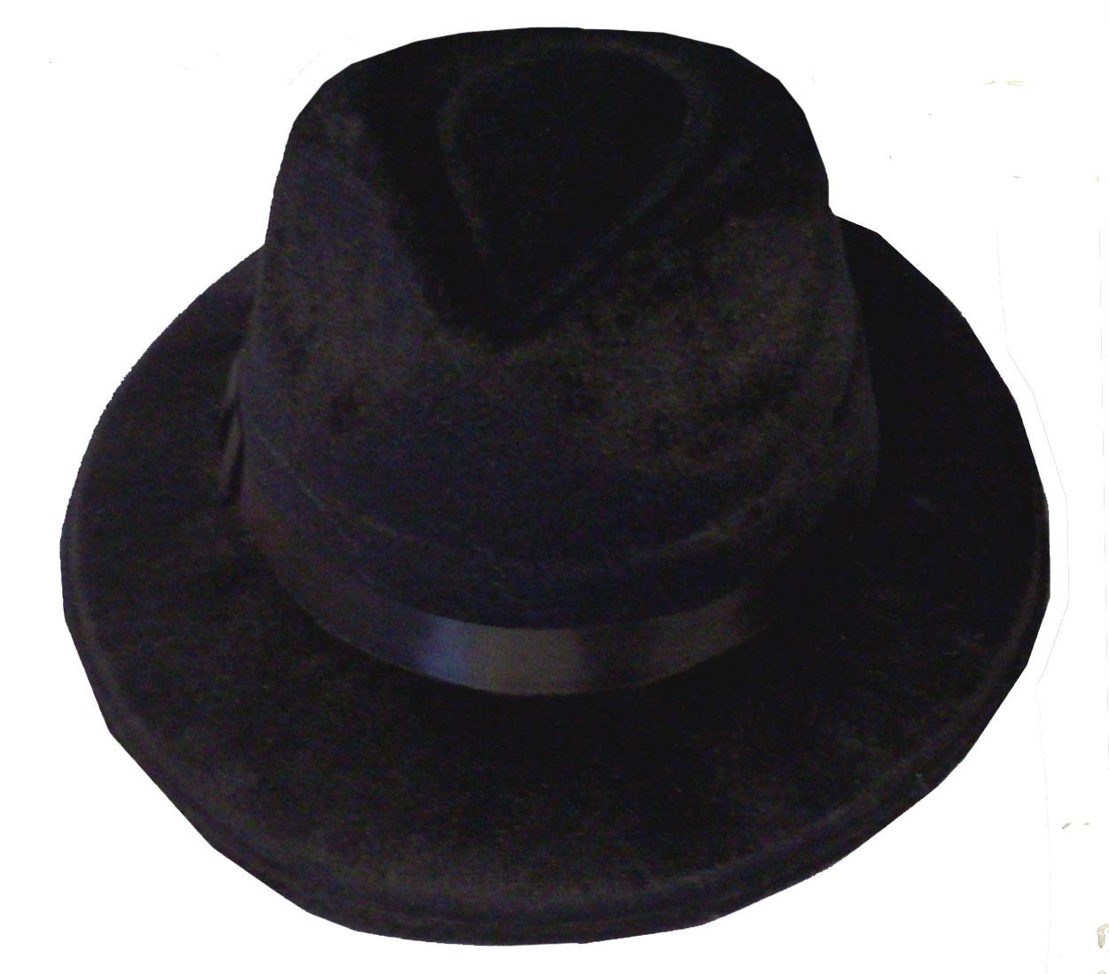 814bf3dd251c2 ... Velour Fedora Hat-389