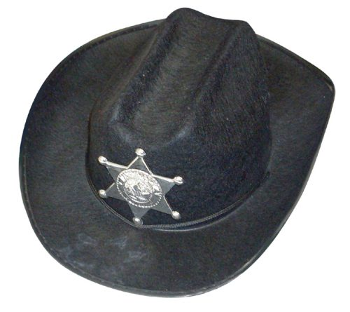 Cowboy Hat With Badge-0