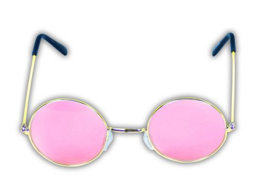 Pink Tinted Glasses-361