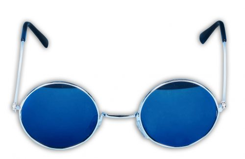 Blue Tinted Glasses-360