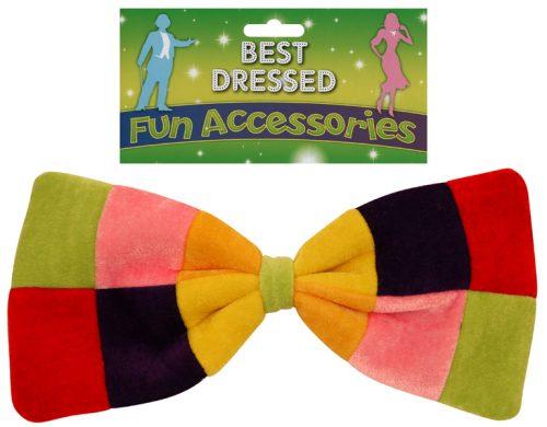Rainbow Bow Tie-304