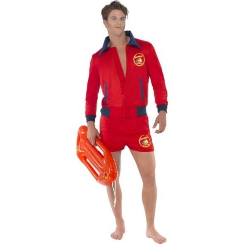 Baywatch Lifeguard Costume-0