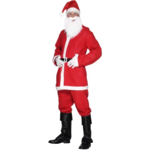 Santa Suit Costume - Men's-0