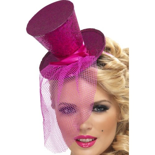 Fever Mini Top Hat on Headband-0