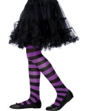 Tights Purple and Black-235841