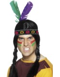 Indian Feathered Headband-236345