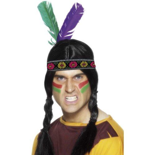 Indian Feathered Headband-236346