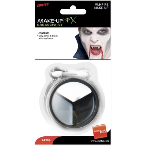 Vampire Make Up, Grey, White and Black-241504