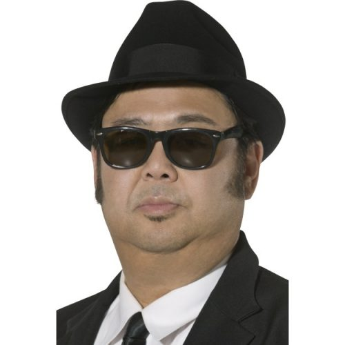 Blues Brothers Men's Fedora Hat-0