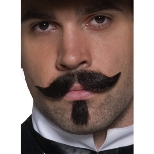 Authentic Western Gambler Moustache-0