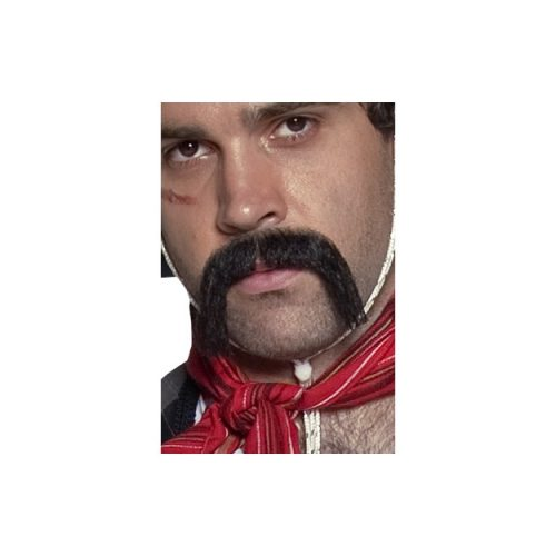 Authentic Western Mexican Handlebar Moustache-0