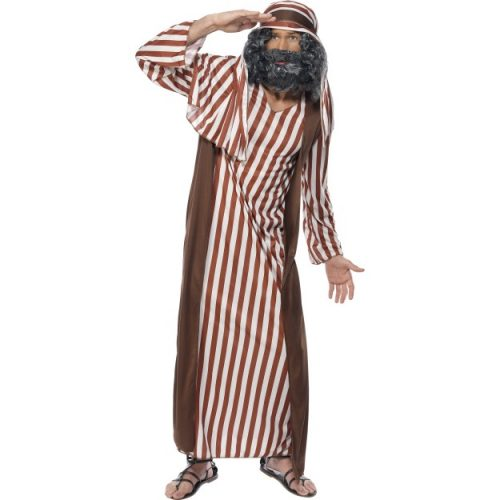 Shepherd Costume, Brown and White-0
