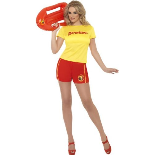 Baywatch Lifeguard fancy dress Costume-0