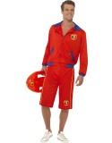 Baywatch Beach Men's Lifeguard Costume-253537