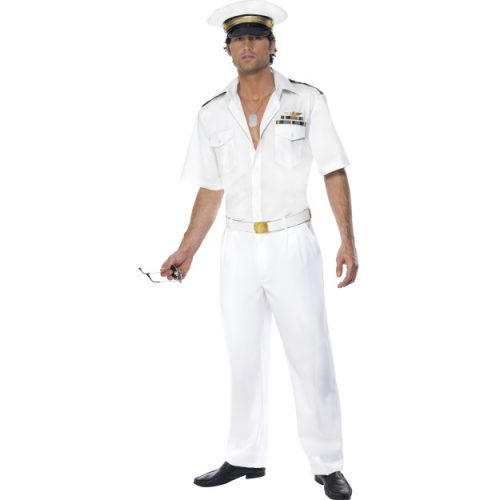 Top Gun Captain Costume-0