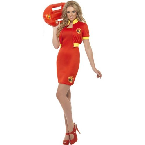 Baywatch Beach Lifeguard Costume-0