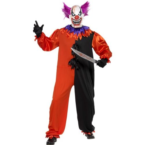Cirque Sinister Scary Bo Bo the Clown Costume-0