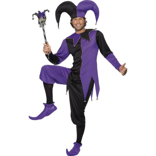 Medieval Jester Costume-0