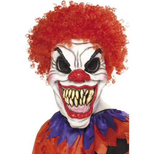 Scary Clown Mask, Foam Latex-0