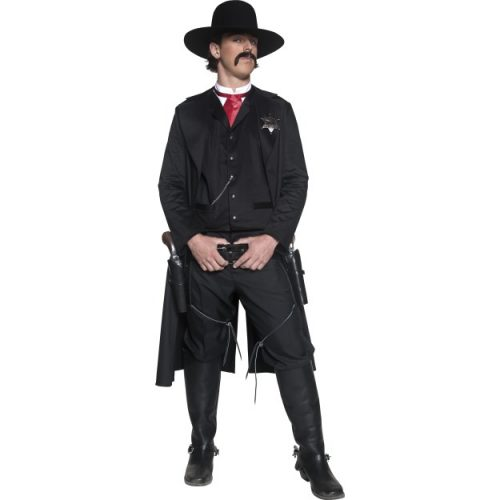 Authentic Western Sheriff Costume-0