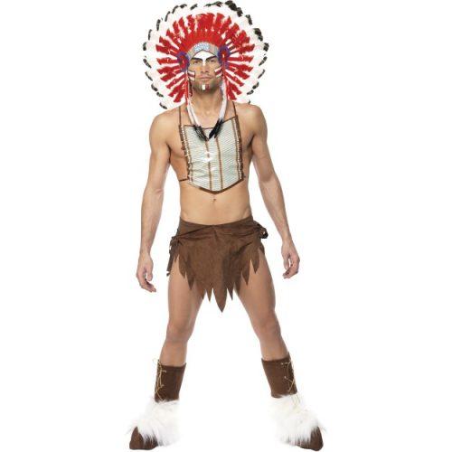 Village People Indian Costume-0