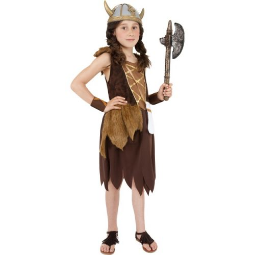 Viking Girl Costume-0