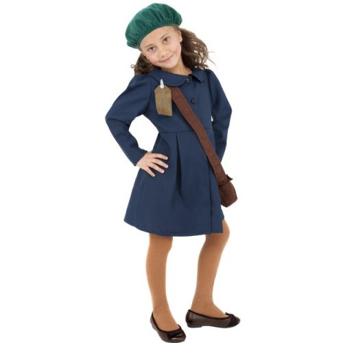 World War II Evacuee Girl Costume-0