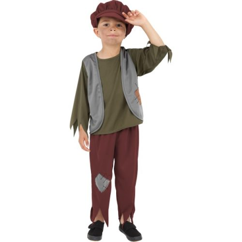Victorian Poor Boy Costume-0