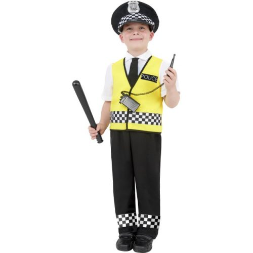 Police Boy Costume-0