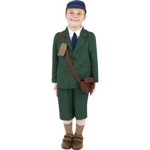 World War II Evacuee Boy Costume-0