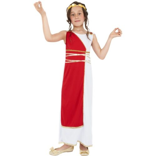 Grecian Girl Costume FANCY DRESS-0