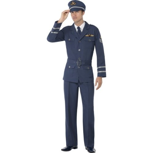 WW2 Air Force Captain Costume-0