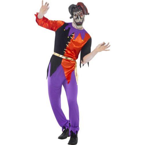 Twisted Jester Costume-0