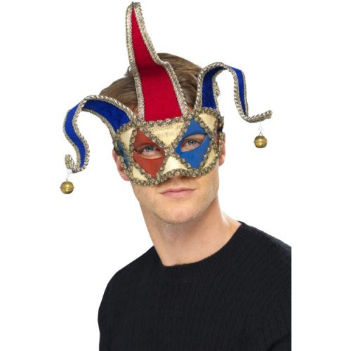 Venetian Musical Jester Eyemask-0