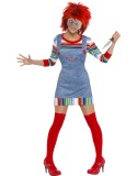 Chucky Costume - Ladies-258091