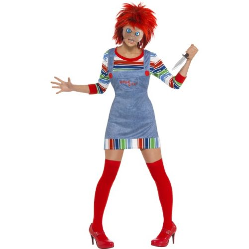 Chucky Costume - Ladies-0