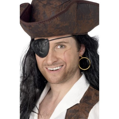Pirate Eyepatch and Earring-0