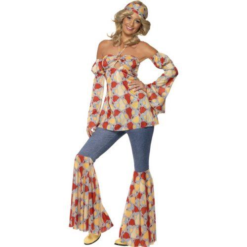 Vintage Hippy 1970's Costume-0
