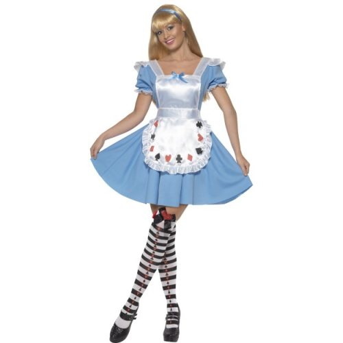 Deck of Cards Girl Costume-0