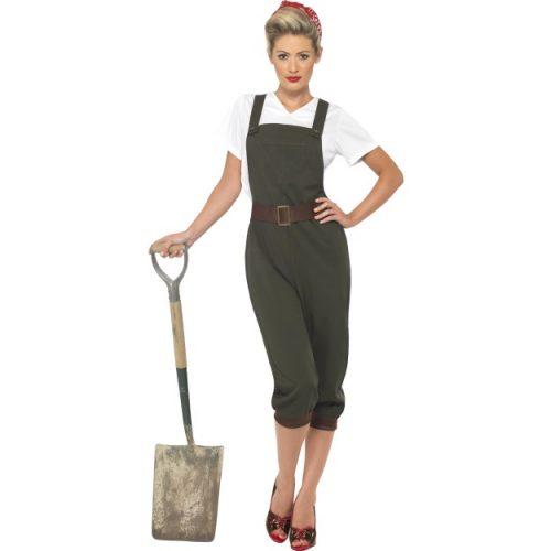 WW2 Land Girl Costume-0