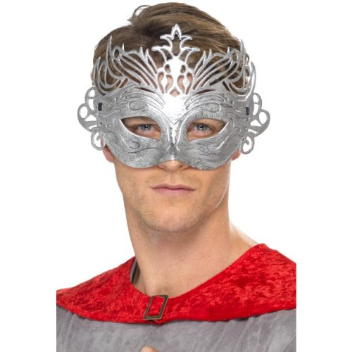 Colombina Silver Mask-0