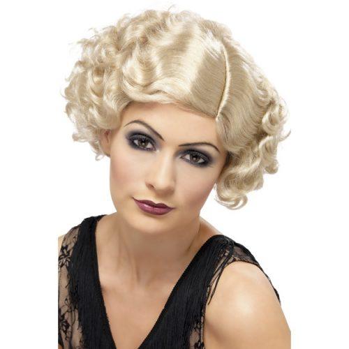 20's Flirty Flapper Wig-0