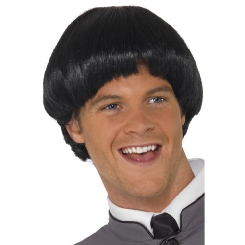 Swinging '60s Bowl Wig-0