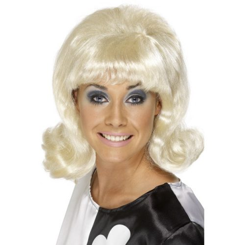 60's Flick-Up Wig-0