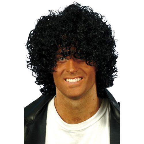 Afro Wet Look Wig-0