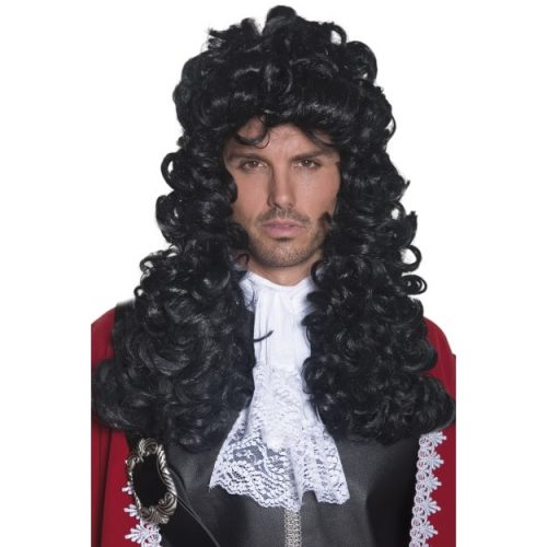 Pirate Captain Wig-0